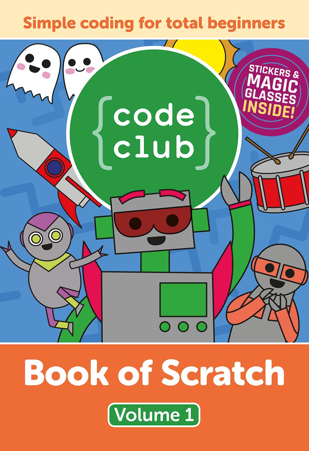 Book of scratch cover