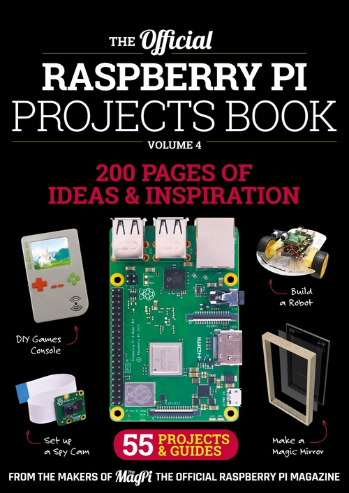 Cover of Raspberry Pi Projects Book 4