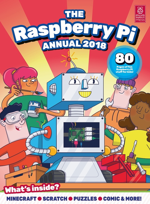 Cover of Raspberry Pi Annual 2018