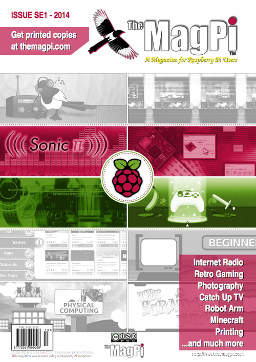 Cover of MagPi SE 1