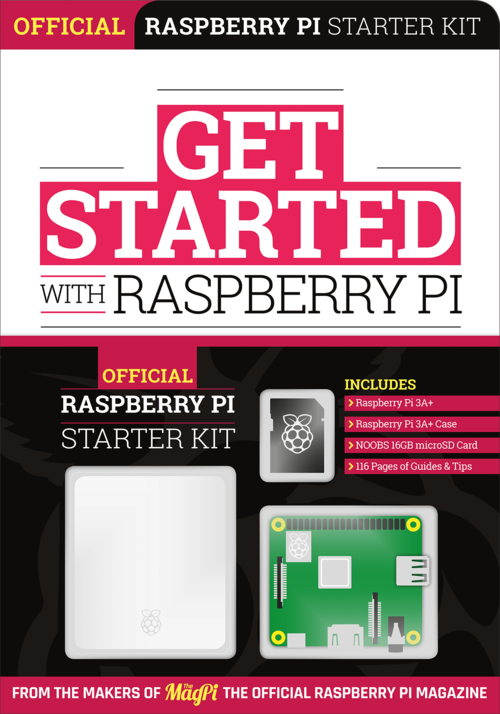 Cover of Get Started with Raspberry Pi