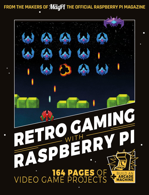Cover of Retro Gaming with Raspberry Pi