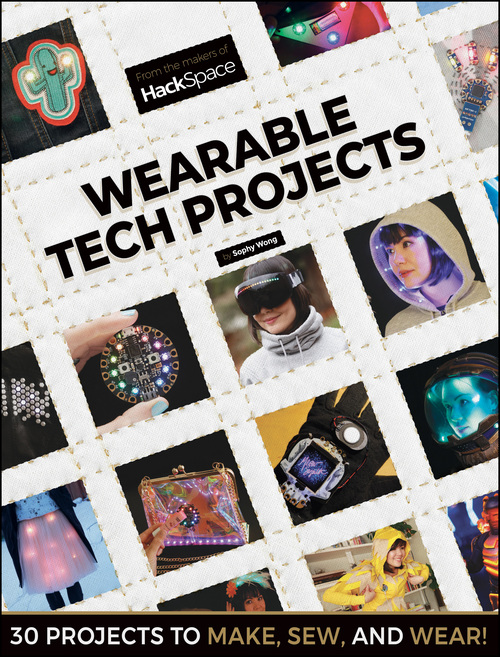 Cover of Wearable Tech Projects