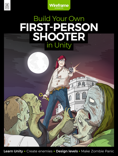 Cover of Build Your Own First-Person Shooter in Unity