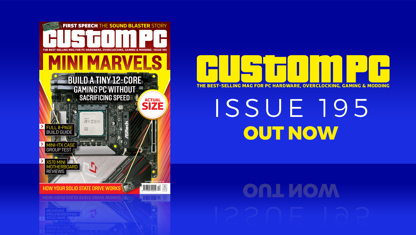 Custom PC issue 195 cover
