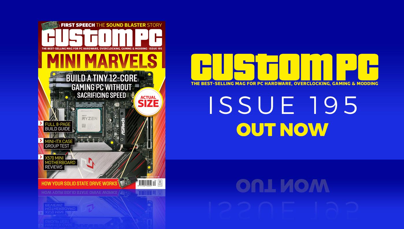 Custom PC issue 195 cover