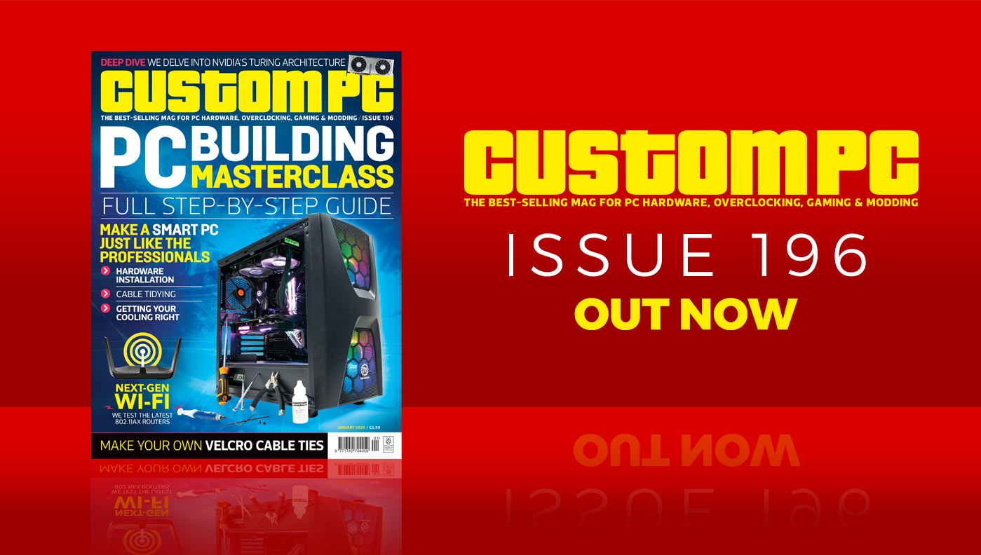 Custom PC issue 196 cover