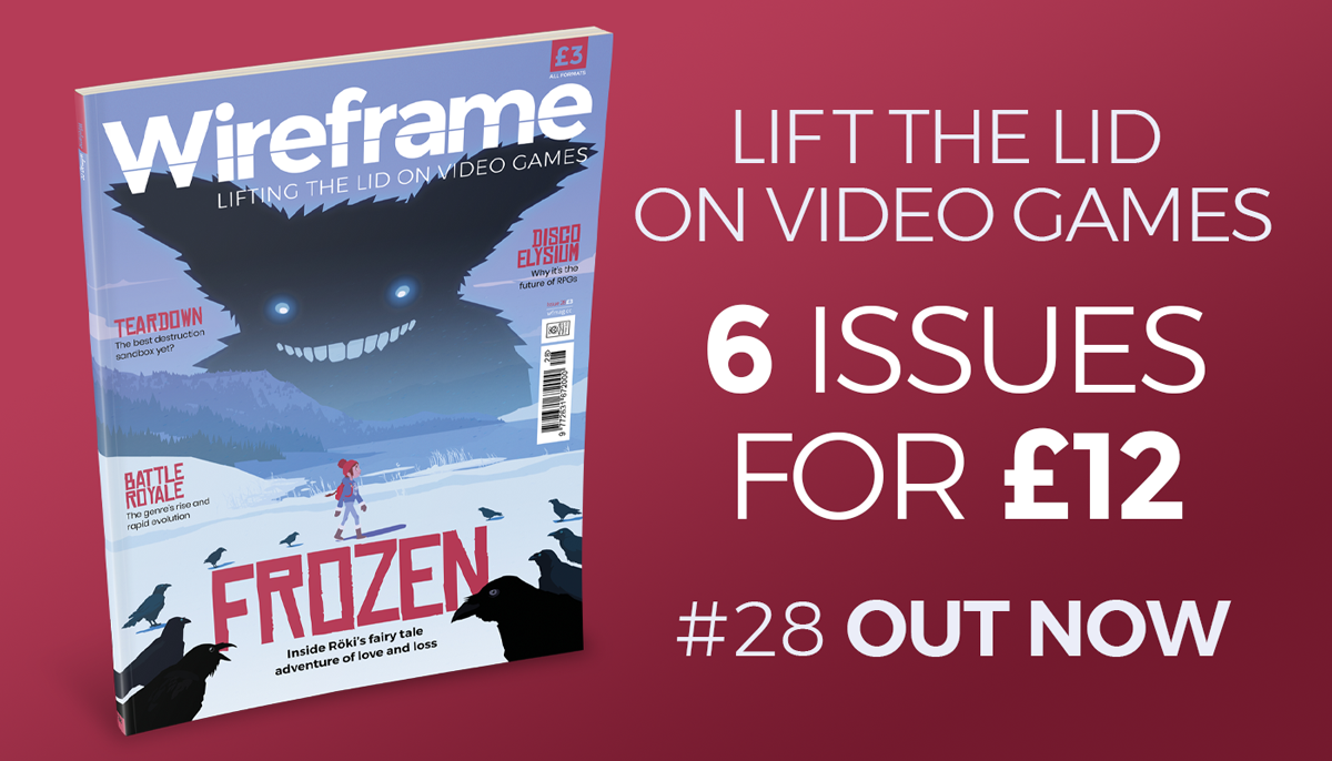 Wireframe issue 28 cover