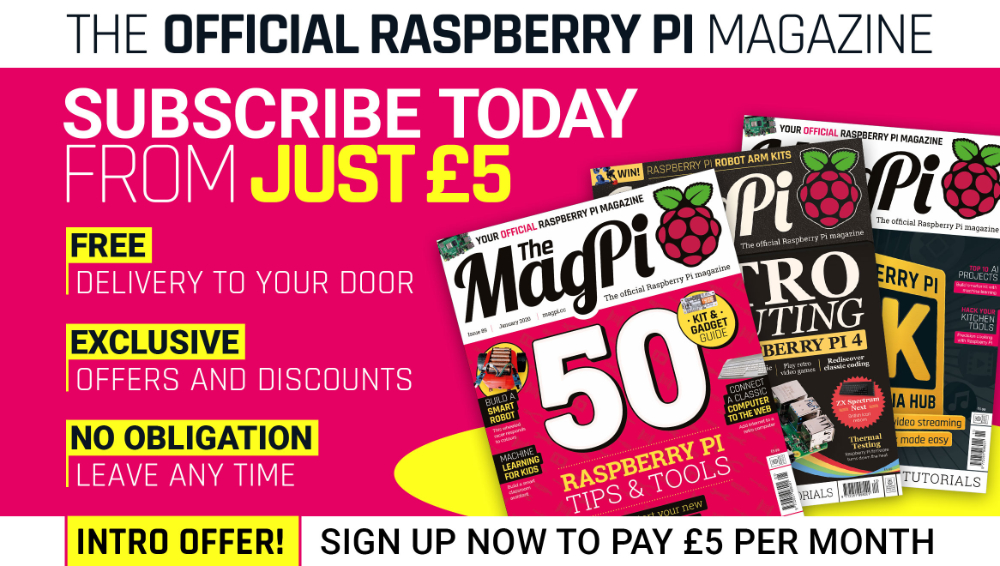 The MagPi issue 89 cover