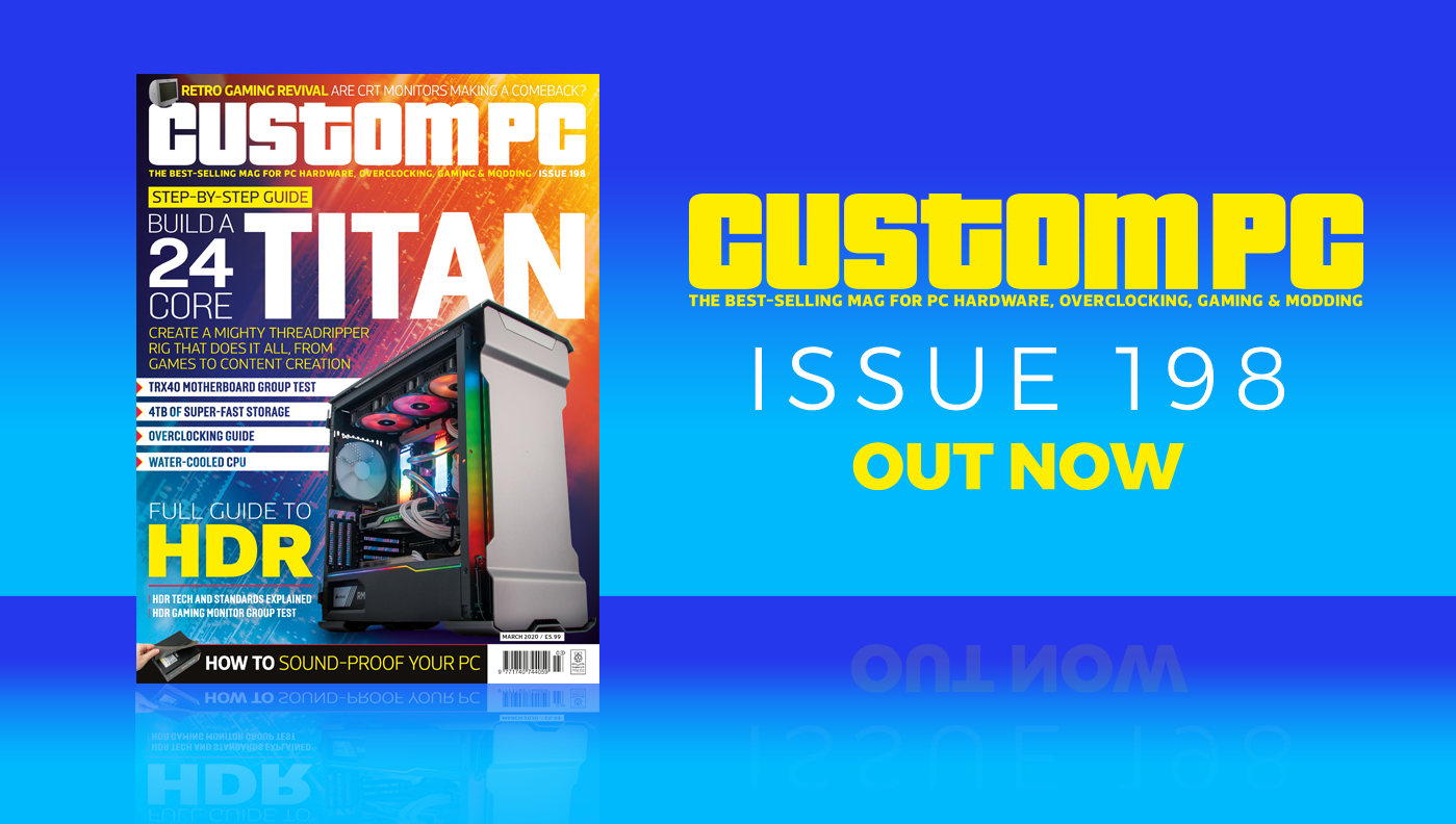 Custom PC issue 198 cover