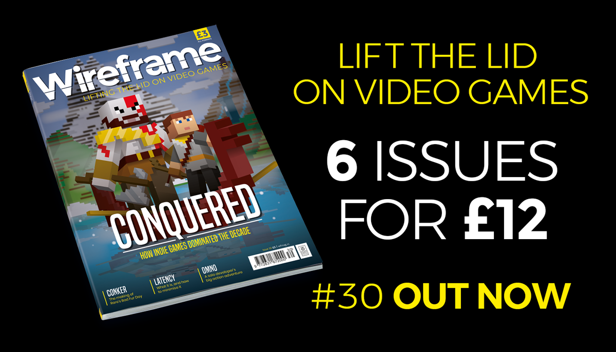 Wireframe issue 30 cover