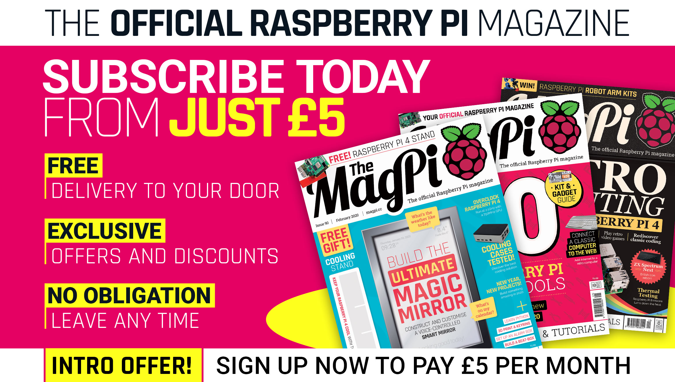 The MagPi issue 90 cover