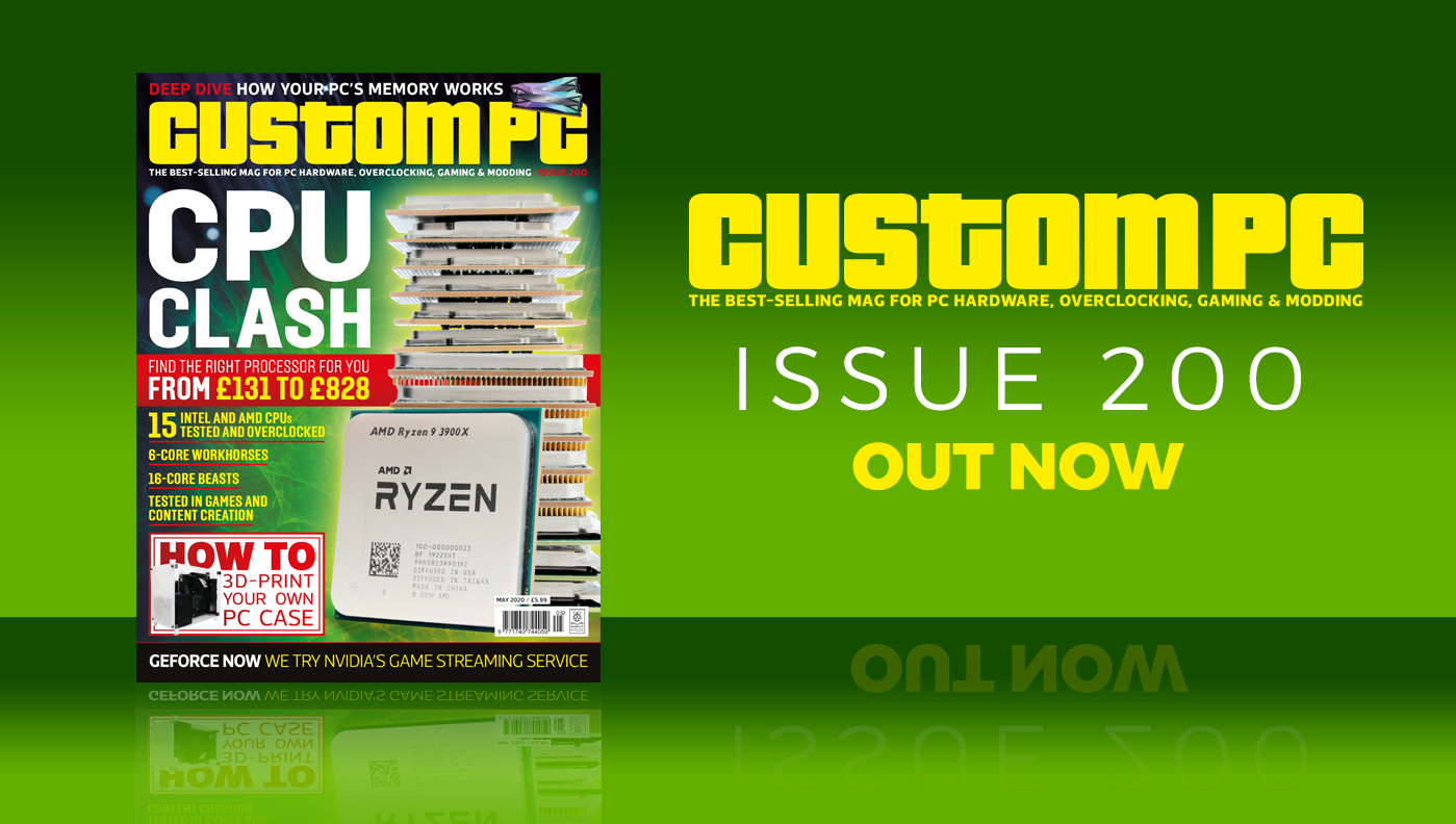 Custom PC issue 200 cover