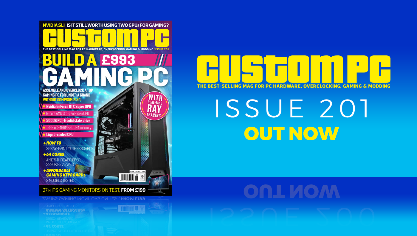Custom PC issue 201 cover