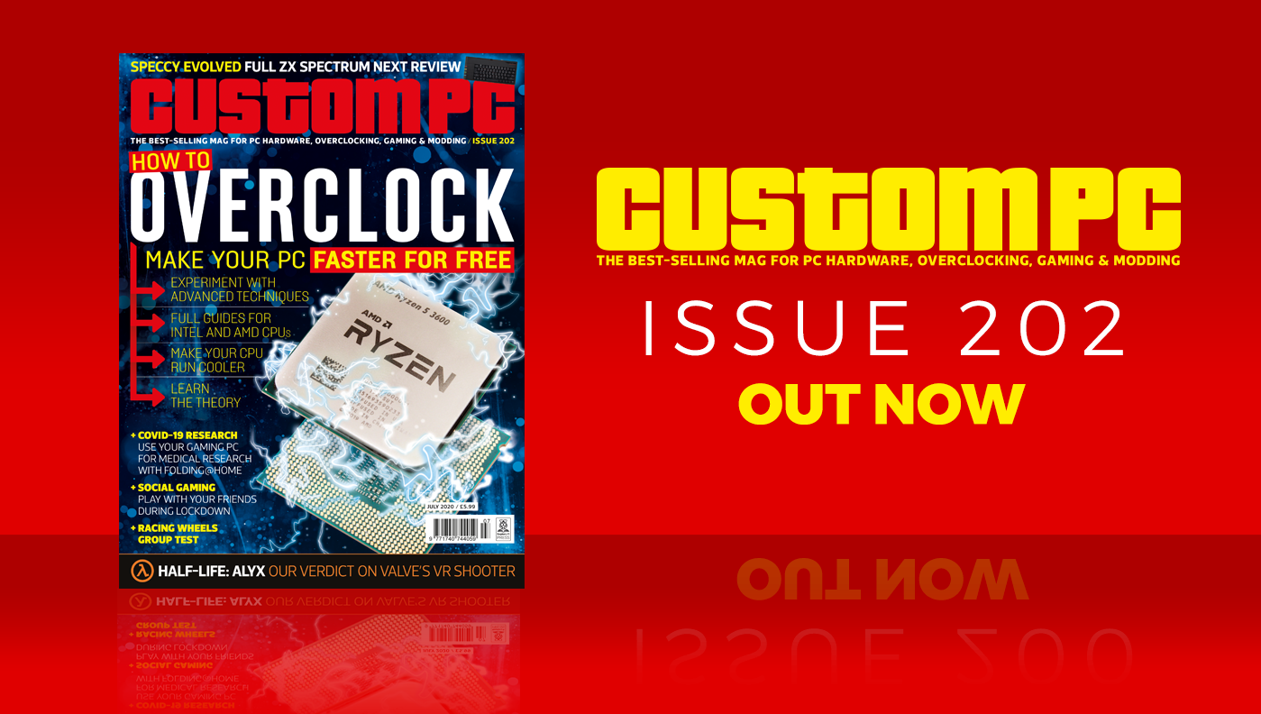 Custom PC issue 202 cover