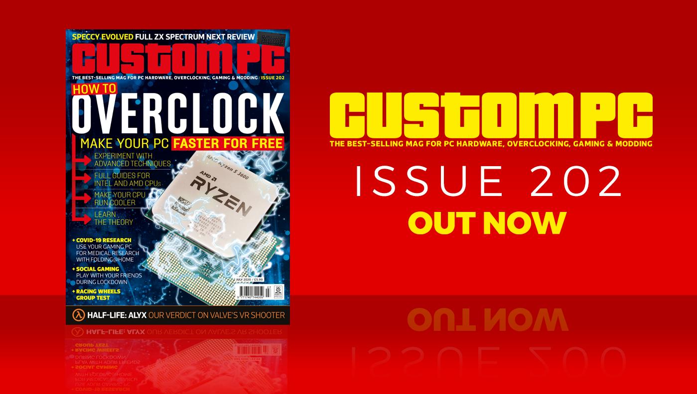 Custom PC issue 202 cover