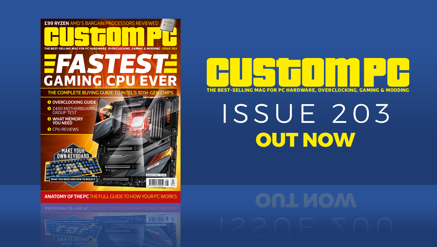 Custom PC issue 203 cover