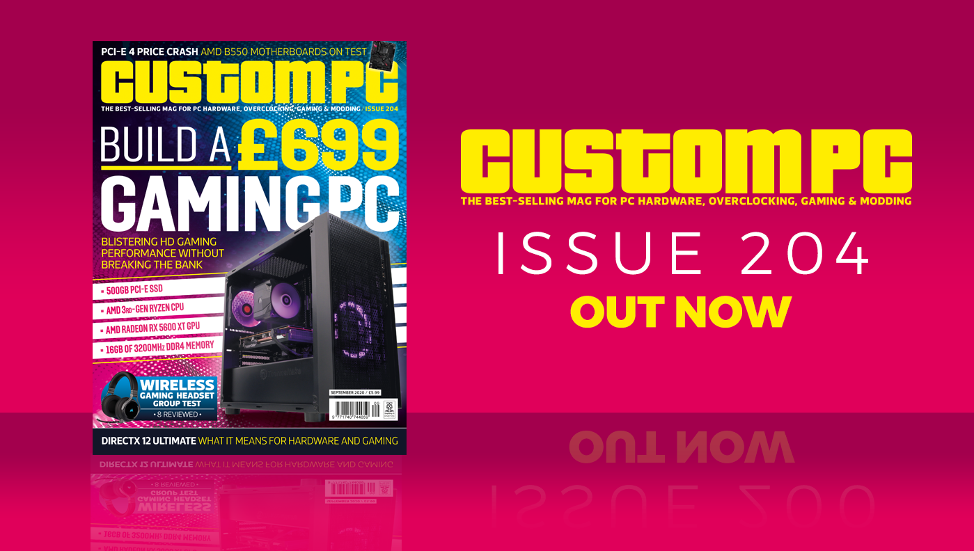 Custom PC issue 204 cover