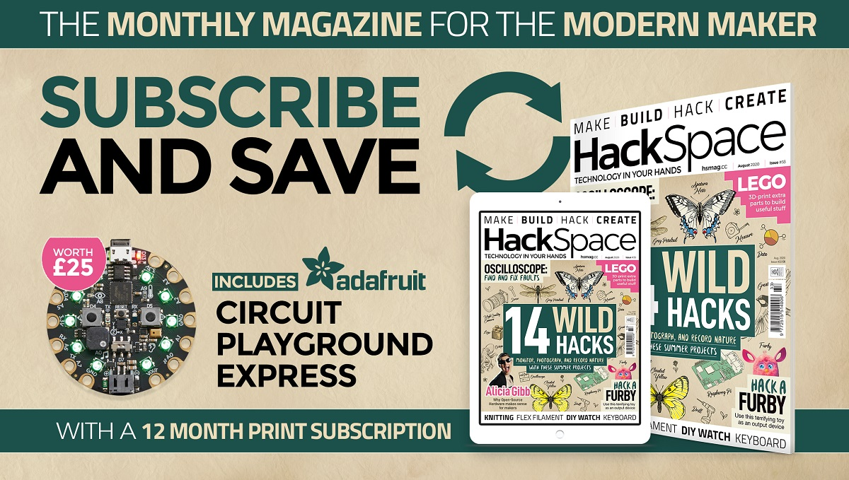 HackSpace magazine issue 33 cover