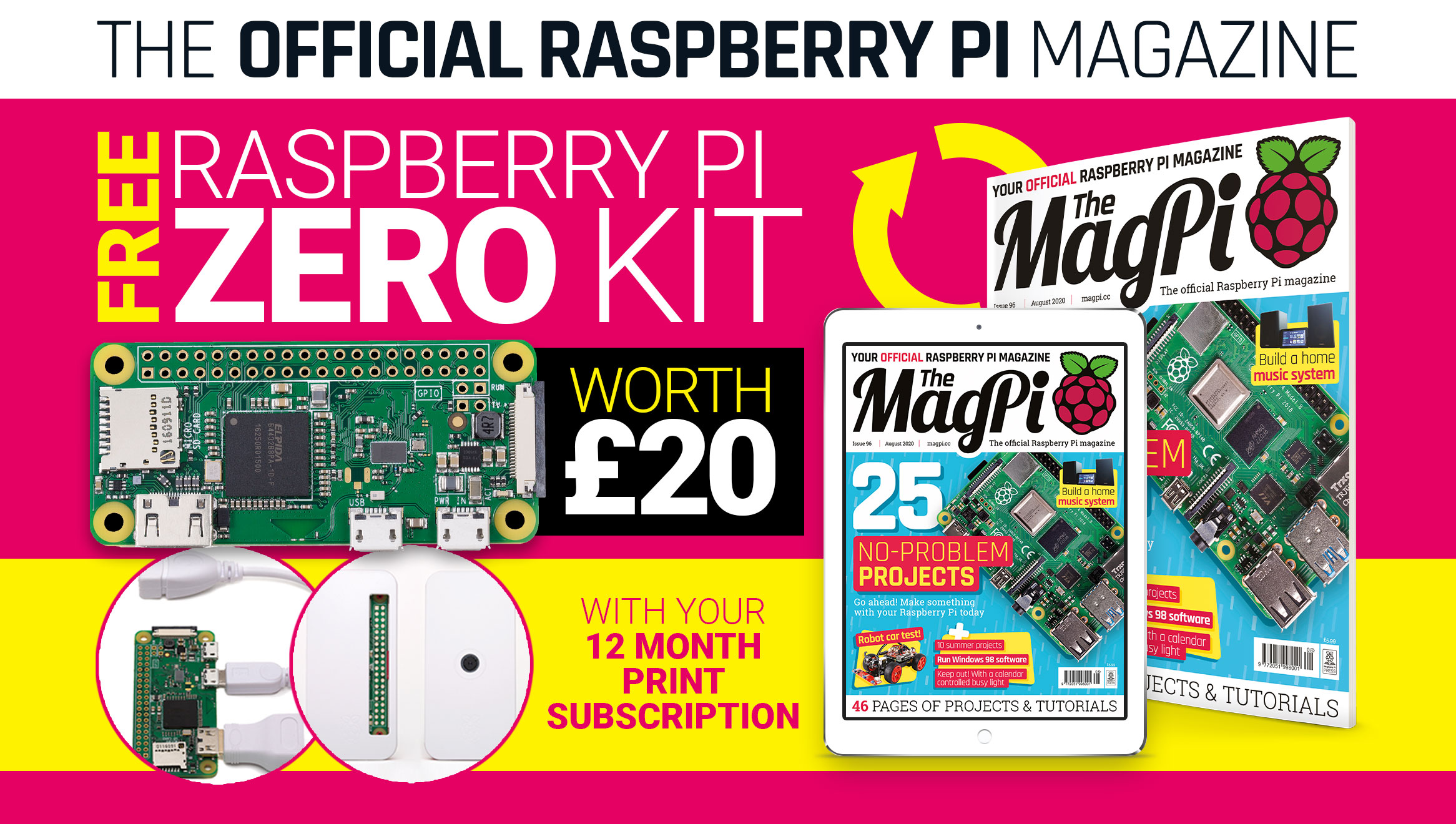 The MagPi issue 96 cover