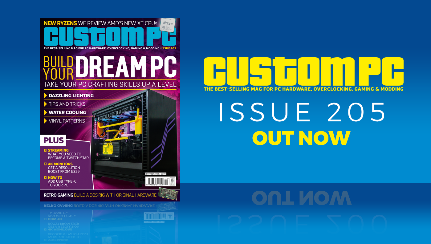 Custom PC issue 205 cover