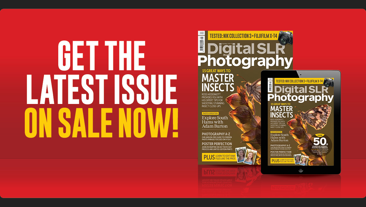 Digital SLR Photography issue 166 cover