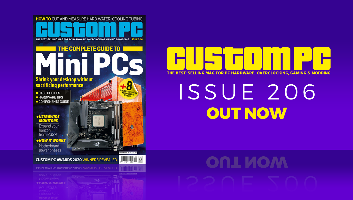 Custom PC issue 206 cover