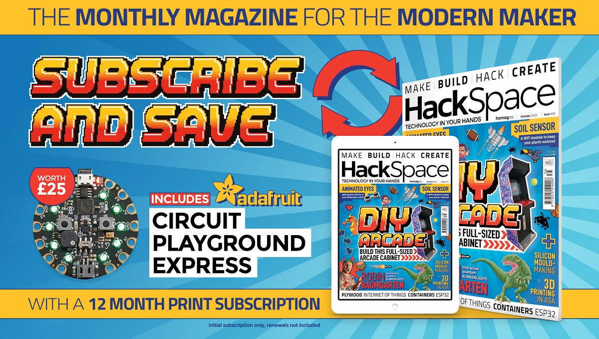 HackSpace magazine issue 35 cover