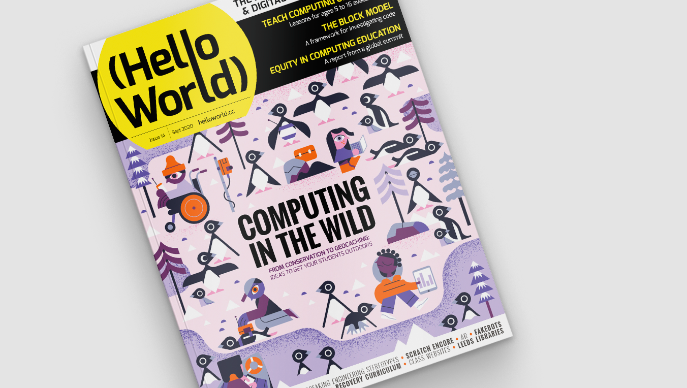 Hello World issue 14 cover