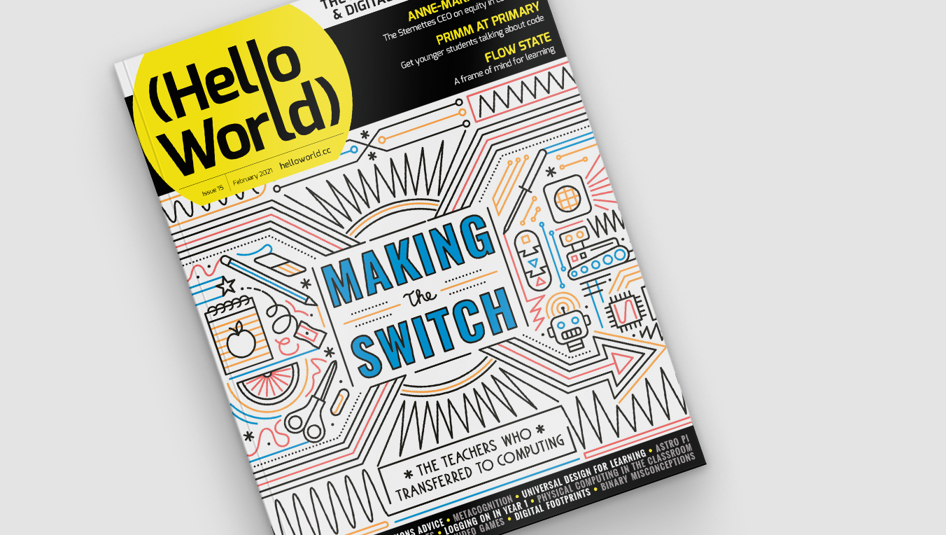 Hello World issue 15 cover