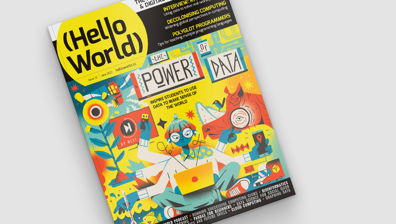 Hello World issue 16 cover