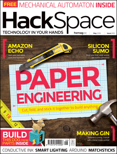 HackSpace magazine issue 6 cover