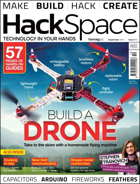 HackSpace magazine issue 10 cover