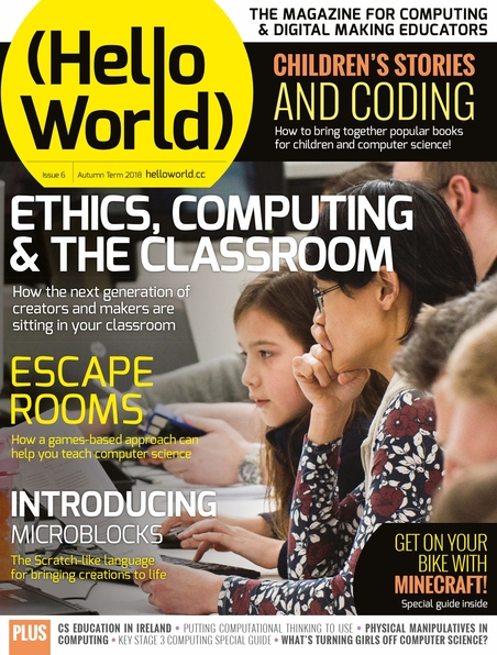 Hello World Issue 6 cover