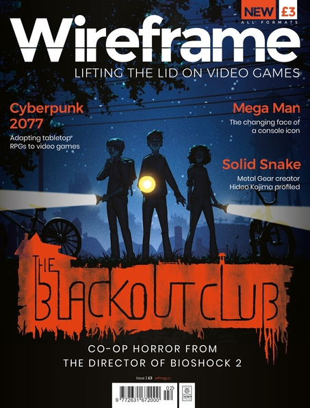 Wireframe Issue 2 cover