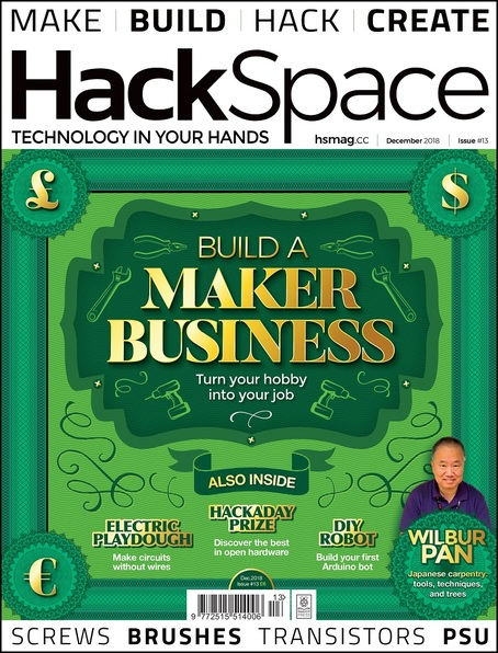 HackSpace magazine Issue 13 cover