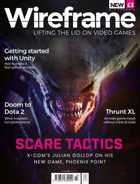 Wireframe issue 3 cover