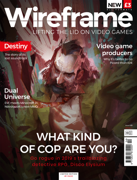 Wireframe issue 4 cover