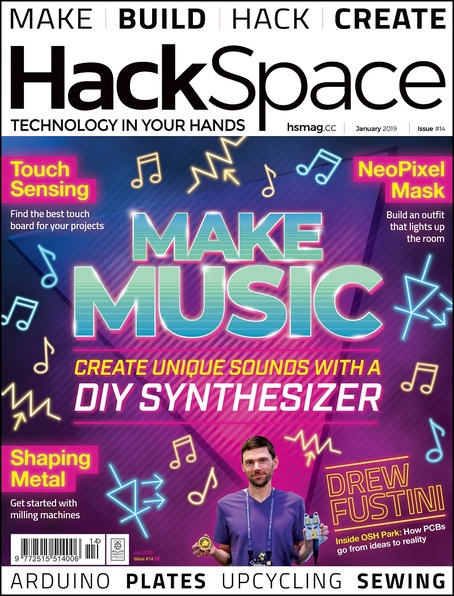 HackSpace magazine issue 14 cover
