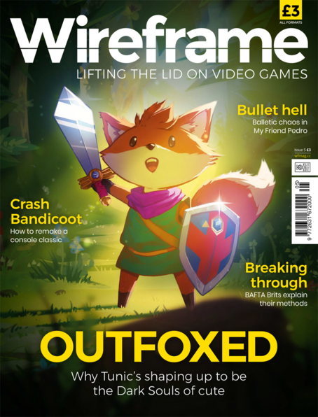 Wireframe issue 5 cover