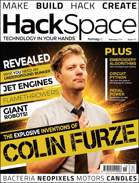 HackSpace magazine Issue 15 cover