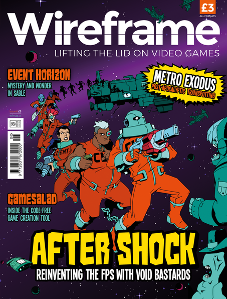 Wireframe Issue 6 cover