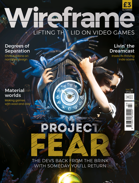 Wireframe issue 7 cover