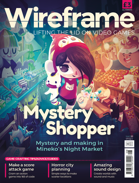 Wireframe Issue 8 cover