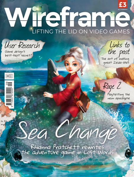 Wireframe Issue 9 cover