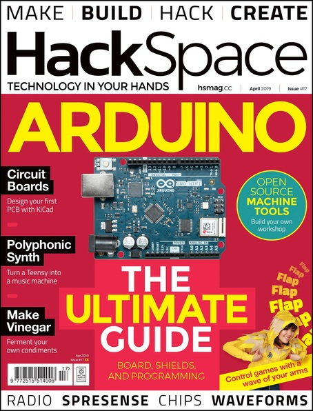 HackSpace magazine Issue 17 cover
