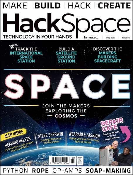HackSpace magazine Issue 18 cover
