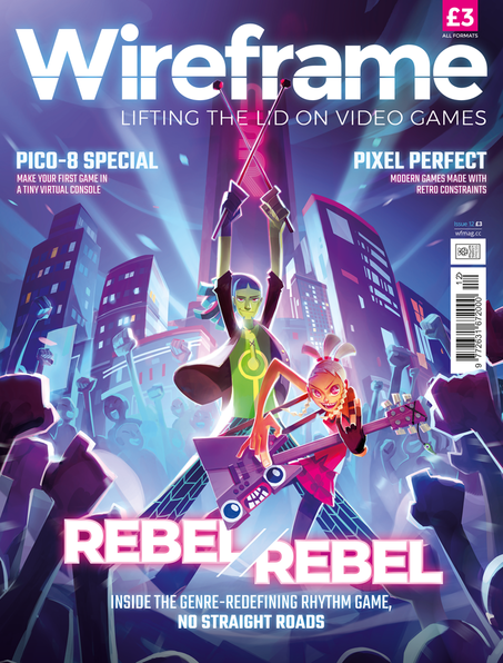 Wireframe issue 12 cover