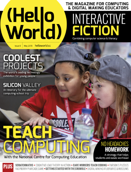 Hello World Issue 8 cover