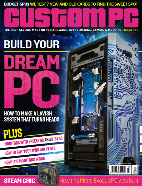 Custom PC Issue 190 cover